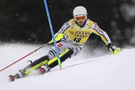 Kam in Alta Badia nicht richtig in Schwung: Linus Straßer. Foto: Alessandro Trovati/AP/dpa