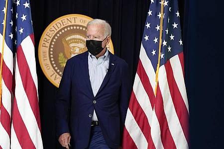 US-Präsident Joe Biden kündigt weitere Vergeltungsschläge gegen IS-Terroristen an. Foto: Manuel Balce Ceneta/AP/dpa