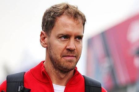 Wirbt für ein Rennen auf der Ferrari-Hausstrecke in Mugello: Sebastian Vettel. Foto: Photo4/Lapresse/Lapresse via ZUMA Press/dpa