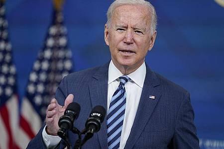 US-Präsident Joe Biden hat eine besondere Beziehung zu Soldaten und dem Militär. Foto: Evan Vucci/AP/dpa
