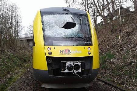 Im Gullydeckel-Prozess wurde der Lokführer verurteilt. Foto: Hessische Landesbahn/dpa