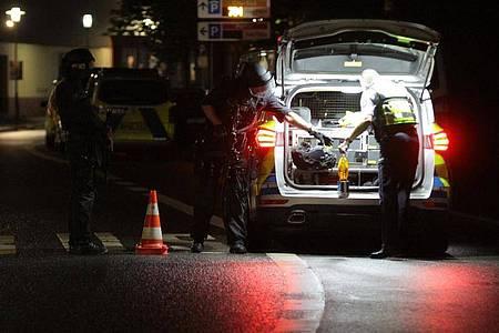 Die Polizei geht Hinweisen auf eine mögliche Gefährdungslage an einer jüdischen Einrichtung nach. Foto: Kai-Uwe Hagemann/dpa