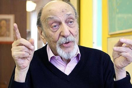 Milton Glaser ist an seinem 91. Geburtstag in Manhattan gestorben. Foto: Christina Horsten/dpa