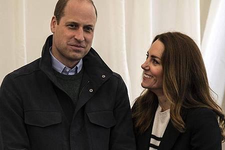 Kate, Herzogin von Cambridge, und Prinz William, Herzog von Cambridge. Foto: Andy Buchanan/PA Wire/dpa