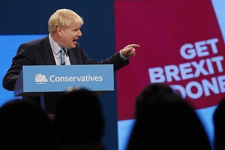 Boris Johnson will am Mittwoch direkt mit EU-Kommissionspräsidentin Ursula von der Leyen über den angestrebten Handelspakt sprechen. Foto: Frank Augstein/AP/dpa