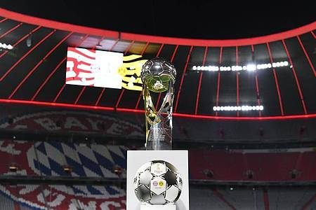 Der Supercup wird in diesem Jahr vor leeren Rängen ausgespielt. Foto: Sven Hoppe/dpa-Pool/dpa