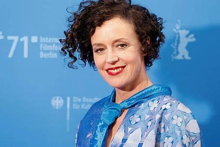 Maria Schraders neue Komödie «Ich bin dein Mensch» wurde bei der Berlinale vorgestellt. Foto: Axel Schmidt/Reuters/Pool/dpa