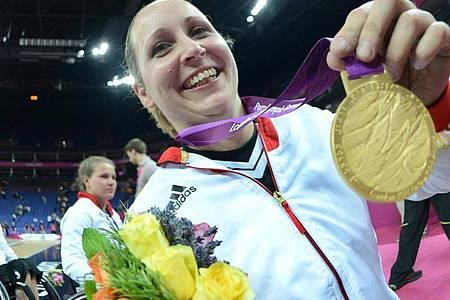2012 gewann Annika Zeyen noch im Rollstuhlbasketball die Goldmedaille. Foto: picture alliance / dpa