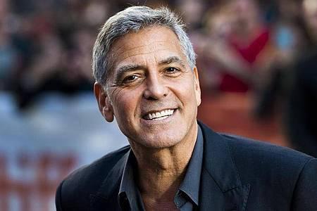 George Clooney steht eine weitere Auszeichnung ins Haus. Foto: Nathan Denette/The Canadian Press/AP/dpa