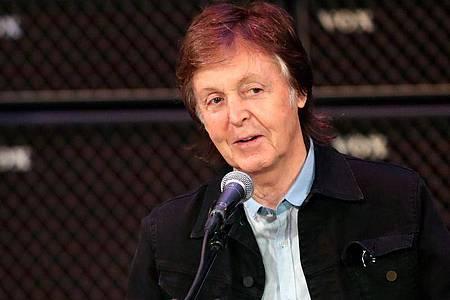 Paul McCartney bei einem Konzert 2017 in Perth. Foto: Richard Wainwright/AAP/dpa