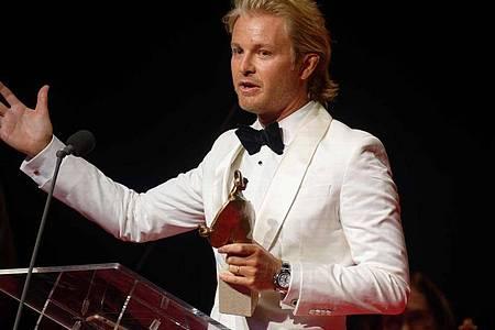Auch Rennfahrer Nico Rosberg wurde mit einem Europäischen Kulturpreis ausgezeichnet. Foto: Henning Kaiser/dpa
