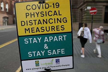 Schottland gilt als Corona-Risikogebiet. Foto: Andrew Milligan/PA Wire/dpa
