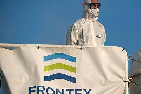 Die EU-Grenzschutzagentur Frontex hat nach Einschätzung von Experten des Europäischen Rechnungshofs bislang nicht den von ihr erwarteten Beitrag zur Bekämpfung der illegalen Einwanderung und grenzüberschreitenden Kriminalität geleistet. Foto: Jesus Merida/SOPA Images via ZUMA Wire/dpa