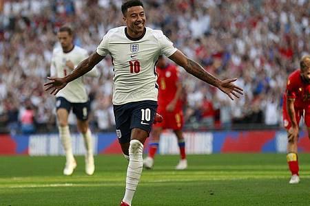 Traf bei Englands Sieg gegen Andorra doppelt: Jesse Lingard. Foto: Ian Walton/AP/dpa