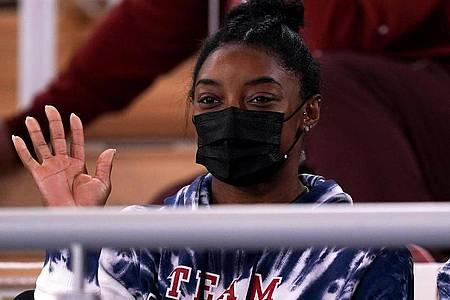 Simone Biles hat wegen mentaler Probleme ihren Start im Einzel-Mehrkampf in Tokio abgesagt. Foto: Mike Egerton/PA Wire/dpa