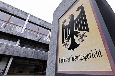 Das Bundesverfassungsgericht in Karlsruhe: Die allermeisten Corona-Eilanträge bleiben ohne Erfolg. Foto: Uli Deck/dpa