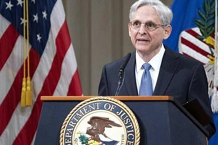 US-Justizminister Merrick Garland will umstrittene Wahlrechtsreformen in republikanisch geführten Bundesstaaten überprüfen. Foto: Kevin Dietsch/Pool UPI/AP/dpa/Archivbild