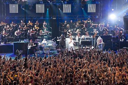 Deep Purple sind 2011 beim Montreux Jazz Festival aufgetreten. Foto: Dominic Favre/Keystone/dpa