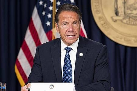 New Yorks Gouverneur Andrew Cuomo steht wegen neuer Belästigungsvorwürfe unter Druck. Foto: Michael Brochstein/Archiv/ZUMA Wire/dpa
