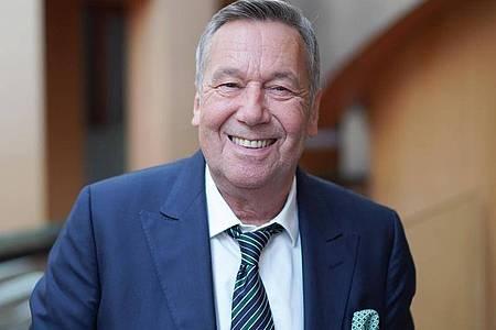 Der Sänger Roland Kaiser wirbt für die SPD. Foto: Jörg Carstensen/dpa