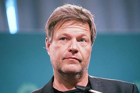 Robert Habeck, Bundesvorsitzender von Bündnis 90/Die Grünen. Foto: Kay Nietfeld/dpa