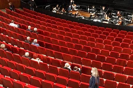 In der Staatsoper Hamburg wird wieder gespielt. Foto: Markus Scholz/dpa
