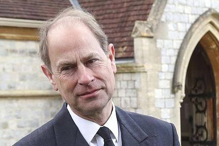 Prinz Edward, Graf von Wessex, erzählt, dass sein Vater, Prinz Philip, sich nichts aus seinen Geburtstagen machte. Foto: Steve Parsons/PA Wire/dpa