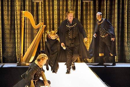 Auch in ihrem zweiten Jahr wird Tobias Kratzers Inszenierung begeistert gefeiert. Foto: Enrico Nawrath/Festspiele Bayreuth/dpa