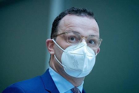 In der Kritik:Jens Spahn (CDU), Bundesminister für Gesundheit. Foto: Kay Nietfeld/dpa