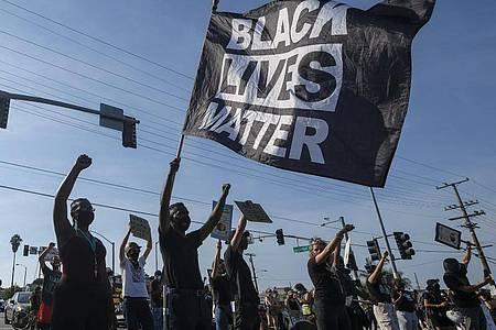 Demonstranten der «Black Lives Matter»-Bewegung (Symbolbild). Foto: Ringo Chiu/ZUMA Wire/dpa
