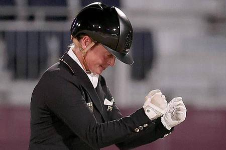Star der deutschen Reiterinnen bei der Dressur-EM in Hagen: Isabell Werth. Foto: Friso Gentsch/dpa