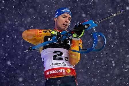 Kehrt ins deutsche Weltcup-Team zurück: Simon Schempp. Foto: Sven Hoppe/dpa