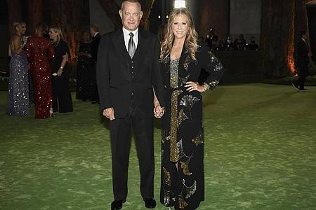 Tom Hanks und seine Frau Rita Wilson bei der Gala im Academy Museum of Motion Pictures Gala. Foto: Dan Steinberg/Invision/AP/dpa
