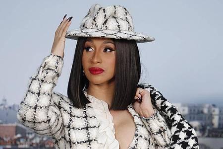 Sängerin Cardi B hat einen viralen Hit gelandet. Foto: Francois Mori/AP/dpa