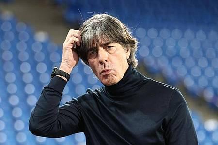 Durchlebte ein sehr wechselhaftes Jahr mit dem DFB-Team: Bundestrainer Joachim Löw. Foto: Christian Charisius/dpa