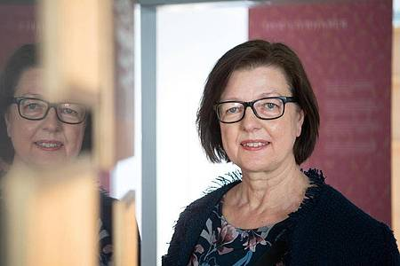 Eva Ehrenfeld, Leiterin des Hölderlinhauses Lauffen. Foto: Marijan Murat/dpa