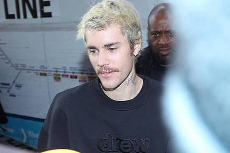 Sänger Justin Bieber im Tape-Nachtclub in London im Februar 2020. Foto: Yui Mok/PA Wire/dpa