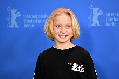 Schauspielerin Helena Zengel spielt in ihrem neuesten Film an der Seite von Tom Hanks. Foto: Gregor Fischer/dpa/Archiv