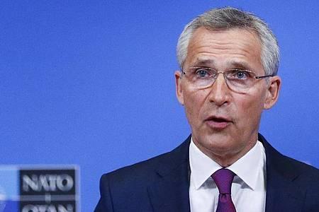 Jens Stoltenberg, Generalsekretär der NATO. Foto: Johanna Geron/Reuters/AP/dpa
