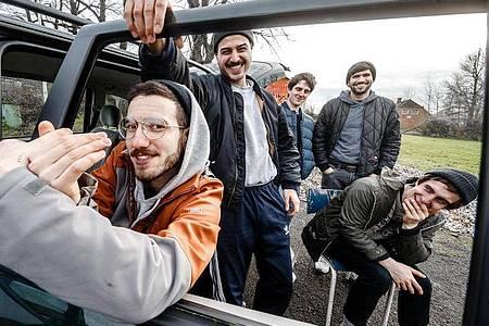 Die Indie-Rock-Band Leoniden hat es an die Spitze der Charts geschafft. Foto: picture alliance / Markus Scholz/dpa