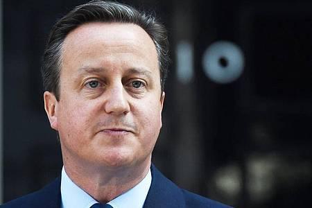 Die britische Regierung lässt die Rolle des früheren Premierministers David Cameron im Fall des insolventen Finanzdienstleisters Greensill Capital prüfen. Foto: Facundo Arrizabalaga/EPA FILE/dpa