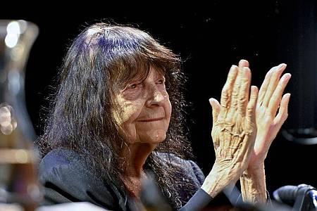 Friederike Mayröcker ist tot. Foto: Herbert Neubauer/apa/dpa