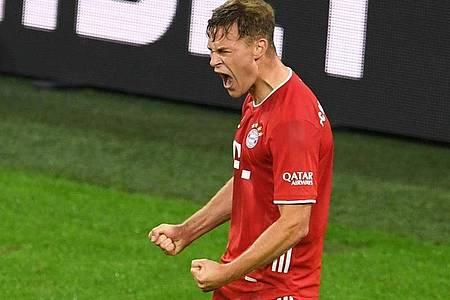 Bayerns Joshua Kimmich ist beim Champions-League-Auftakt gegen Atlético Madrid dabei. Foto: Andreas Gebert/Reuters/Pool/dpa