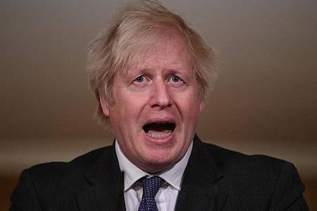 Sorgt mit seinen Aussagen für Stirnrunzeln: Boris Johnson. Foto: Leon Neal/PA Wire/dpa
