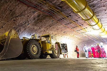 Der Salzstock in Gorleben wurde jahrzehntelang für die Endlagerung von hoch radioaktivem Atommüll erkundet. Foto: Philipp Schulze/dpa