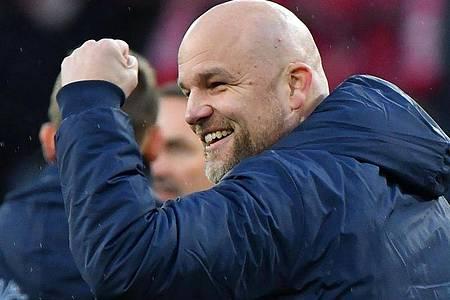 Rouven Schröder ist der Sportvorstand des FSV Mainz 05. Foto: Torsten Silz/dpa