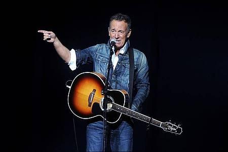 Kein Freund von Trump: Bruce Springsteen beim «Stand Up For Heroes»- Benefizkonzert 2018 in New York. Foto: Brad Barket/Invision/dpa