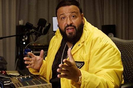 """DJKhaled wurde für """"Popstars"""" in der Sparte """"Bestes Video"""" ausgezeichnet. Foto: MTV/PA Media/dpa"""