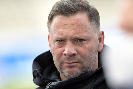 Strebt gegen die SpVgg Greuther Fürth einen Dreier an: Hertha-Trainer Pal Dardai. Foto: Soeren Stache/dpa-Zentralbild/dpa