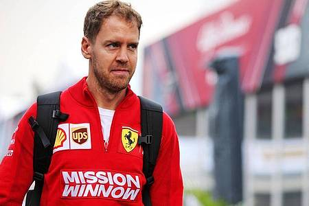 Gab sein Esports-Debüt: Ferrari-Pilot Sebastian Vettel. Foto: Photo4/Lapresse/Lapresse via ZUMA Press/dpa